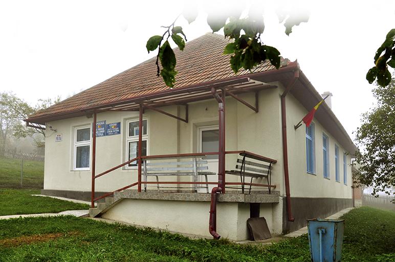Clădirea Primăriei comunei Bătrâna